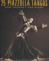 Astor Piazzolla: 25 Tangos - trombitára zongorakísérettel