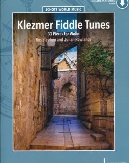Klezmer Fiddle Tunes (+ online hanganyag)