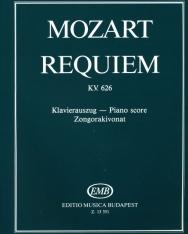 Wolfgang Amadeus Mozart: Requiem - zongorakivonat (Darvas G.-Orbán Gy.)