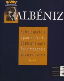 Isaac Albéniz: Suite Espanola zongorára op. 47