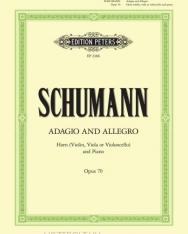 Robert Schumann: Adagio and Allegro op. 70- kürtre, zongorakísérettel