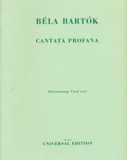 Bartók Béla: Cantata Profana - zongorakivonat