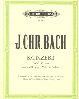 Johann Christian Bach: Concerto for Viola (c-moll)