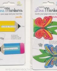 Line Markers - Pencils, Butterflies, Critters