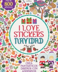 I Love Stickers Navidad