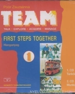 Team 1 First Steps Together - Hanganyag Audio CDs (2)