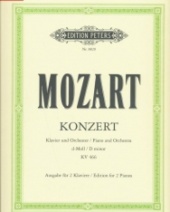 Wolfgang Amadeus Mozart: Concerto for Piano K. 466 (2 zongora)