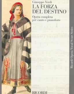 Giuseppe Verdi: La forza del destino - zongorakivonat (olasz)