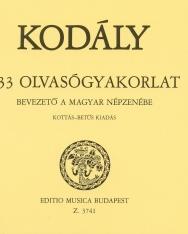 Kodály Zoltán: 333 olvasógyakorlat