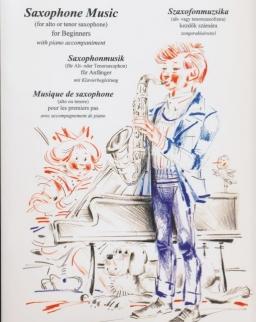 Szaxofonmuzsika (alt- vagy tenorszaxofonra, zongorakísérettel) kezdők számára
