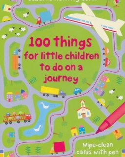 100 Things for Little Children to do on a Journey (Usborne Activity Cards)