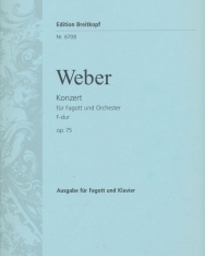 Carl Maria von Weber: Konzert für Fagott F-dúr op. 75