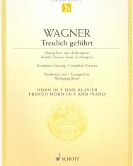 Richard Wagner: Treulich geführt (Lohengrin) - kürtre, zongorakísérettel