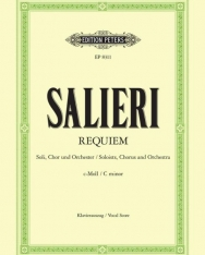 Antonio Salieri: Requiem - zongorakivonat