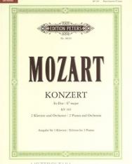 Wolfgang Amadeus Mozart: Concerto for Piano K.365 (3 zongora)