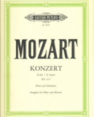 Wolfgang Amadeus Mozart: Concerto for Flauto K 313.