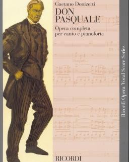Gaetano Donizetti: Don Pasquale - zongorakivonat (olasz)