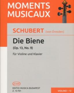 Schubert (von Dresden): Die Biene hegedűre, zongorakísérettel