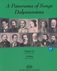 Dalpanoráma - Négy évszázad könnyű dalai mély hangra 1/b.