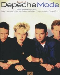 Depeche Mode: Best of (ének-zongora-gitár)