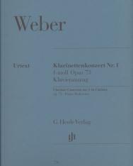 Carl Maria von Weber: Concerto for Clarinet No. 1 (f-moll)