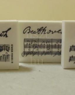 Radír - zeneszerzős (Bach, vagy Beethoven, vagy Mozart)