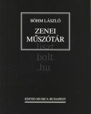 Böhm László: Zenei műszótár