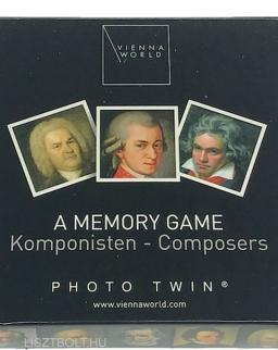Memória játék - zeneszerzős