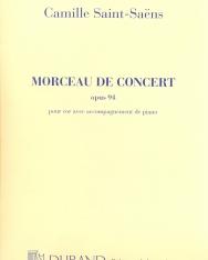 Camille Saint-Saens: Morceau de concert - kürtre, zongorakísérettel