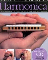 Absolute Beginners Harmonica + CD (szájharmonika)