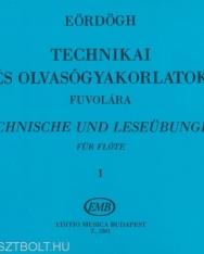 Eördögh: Technikai tanulmányok 1.