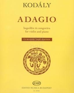 Kodály Zoltán: Adagio (hegedű+zongora)