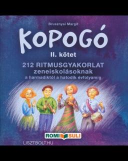 Kopogó II. - 212 ritmusgyakorlat zeneiskolásoknak a harmadiktól a hatodik évfolyamig