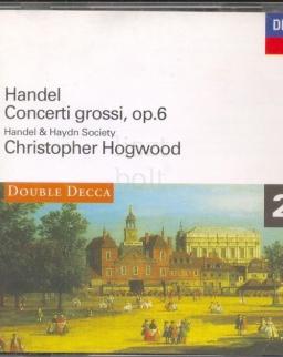 Georg Friedrich Händel: Concerti grossi op.6. - 2 CD