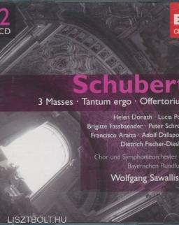 Franz Schubert: Masses in A, in C, in E, Tantum ergo, Offertorium - 2 CD