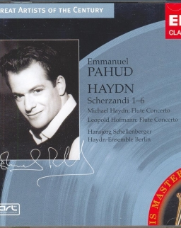 Joseph Haydn.: Flute Concerto in D / Michael Haydn: Scherzandi 1-6