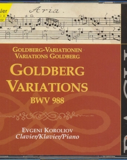 Johann Sebastian Bach: Goldberg Variations - 2 CD