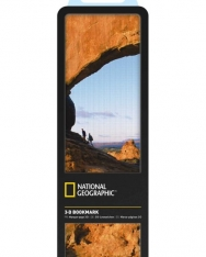 National Geographic 3-D Bookmark - Arches National Park