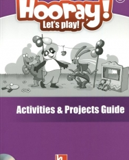 Hooray! Let's Play! Level B Activity Book Guide with Activity Book Class Audio CD