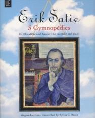 Erik Satie: 3 Gymnopédies (furulyára zongorakísérettel)