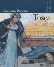 Giacomo Puccini: Tosca - partitúra (olasz)