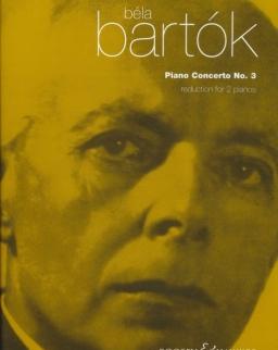Bartók Béla: Concerto for Piano No. 3. (2 zongora)