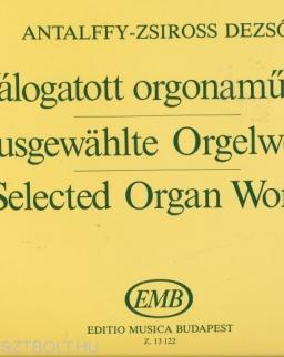 Antalffy-Zsíros Dezső: Válogatott orgonaművek
