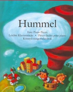 Johann Nepomuk Hummel: Könnyű zongoradarabok