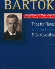 Bartók Béla: Triók fuvolákra