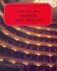 Camille Saint-Saens: Samson and Delilah zongorakivonat (angol, francia)