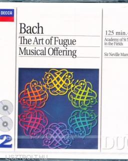 Johann Sebastian Bach: The Art of Fugue, Musical Offering - 2 CD