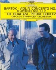 Bartók Béla: Concerto for Violin No 2, Rhapsody No 1,2