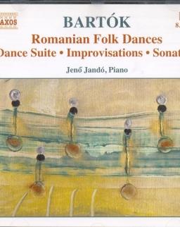 Bartók Béla: Piano Music 2. (Tánc-szvit, Szlovák táncok, Improvizációk, Kis szvit, Román népi táncok)