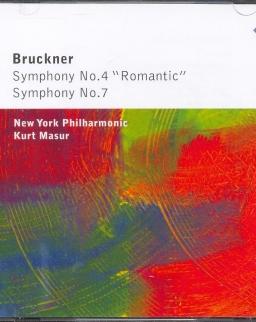 Anton Bruckner: Symphony No. 4,7 - 2 CD